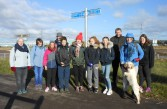 "Confirmation Group sponsored walk for ""Mary's Meals"" 5-11-16"