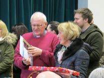 Fr Cooke & Helen Dyke