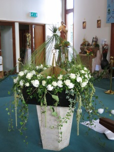 Baptismal Font. By Marie Cunniff