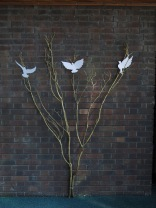 Doves of Peace & the Tree of Life. By Marie Cunniff