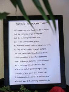 The Wifrid Owen poem