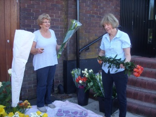 Outside work - Ann Gibbons & Gwenda Francis