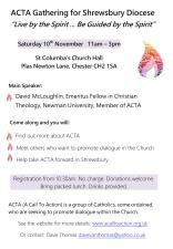 ACTA Gathering 10-11-18
