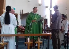 1 July 2018: Ken Kilcoyne receives the Guild of St Stephen Gold Medal + commendation for 50+ years service